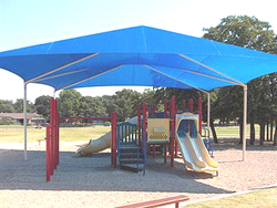 another double hip shade structure